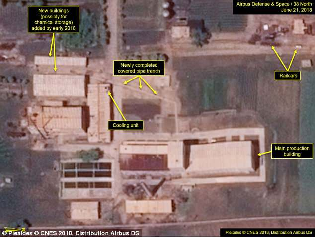 US intelligence believes North Korea is ramping up nuclear