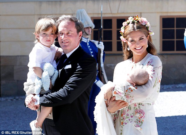 Princess Madeleine Of Sweden Posts Candid Snap With