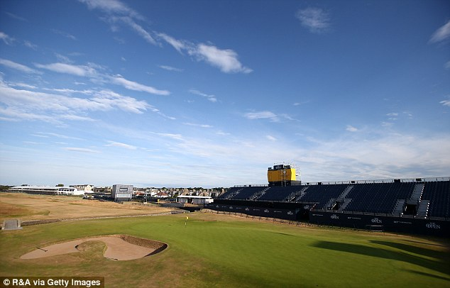 british open tee times day 2