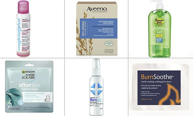 From silver gel to oats The unlikely sunburn remedies that really