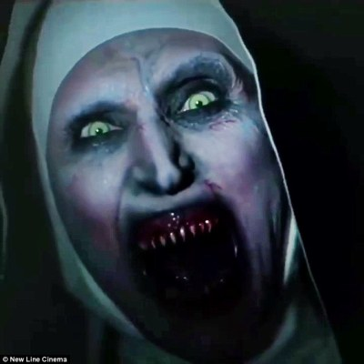 The Nun advertisement is removed from YouTube over jump scare | Daily Mail Online