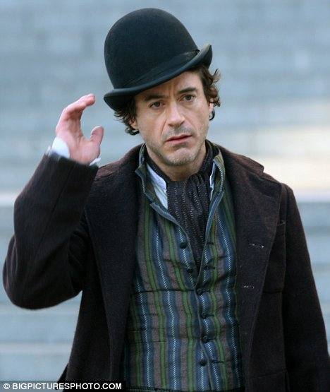 Dr Watson I presume Jude Law unveils his new look for the Sherlock