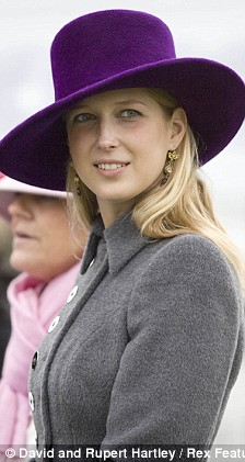 Hat's alike: Gabriella Windsor takes a leaf out of Zara Philip's style guide at the Hennessey ...