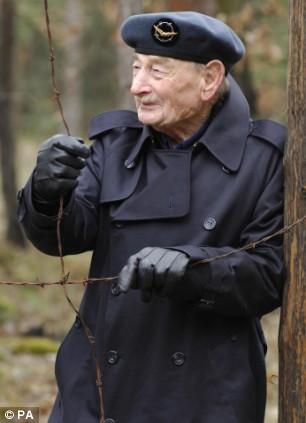 Alfie Fripp returns to Stalag Luft III