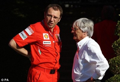 Ecclestone and Domenicali