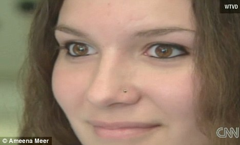 Teenager suspended by school for nose stud claims it\u0027s part of her