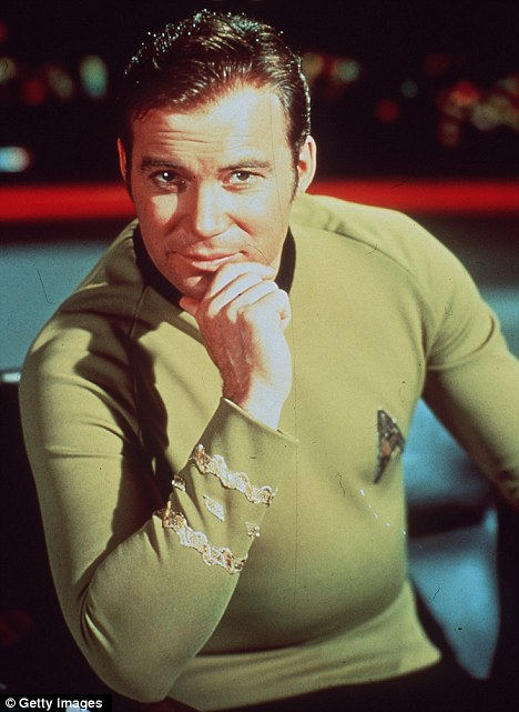 William Shatner has succumed to the dreaded middle-aged spread | Daily