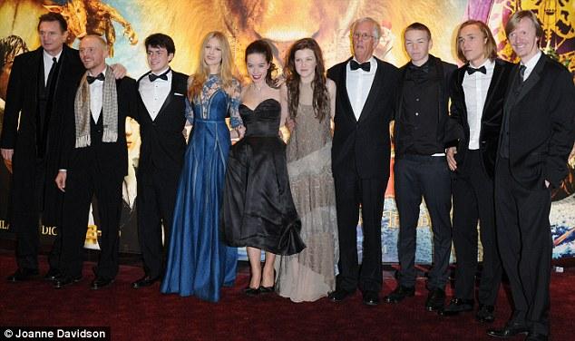 Narnia Dawn Treader Premiere Georgie Henley And Anna