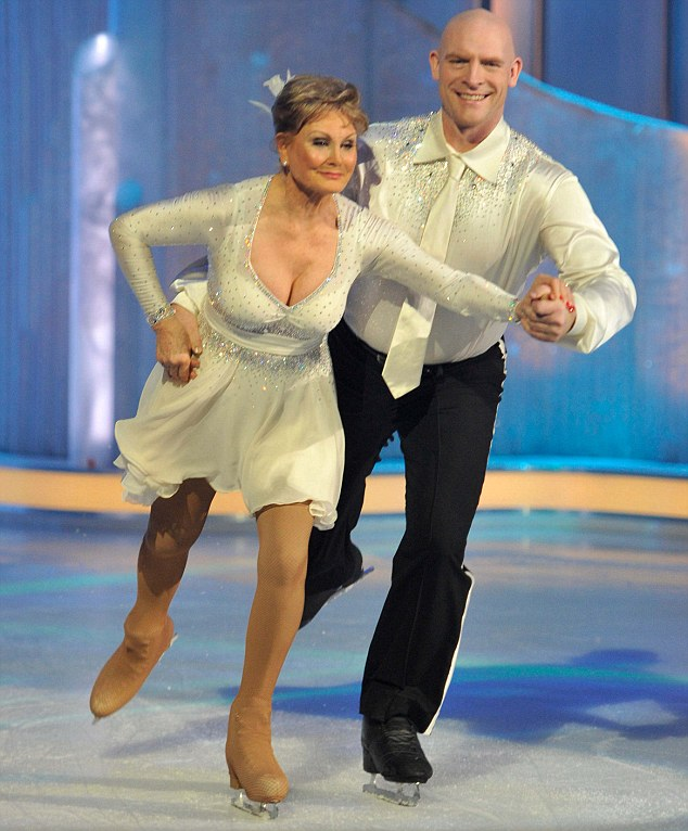 Dancing On Ice 2011 Angela Rippon throws down furious challenge to - jason rippon