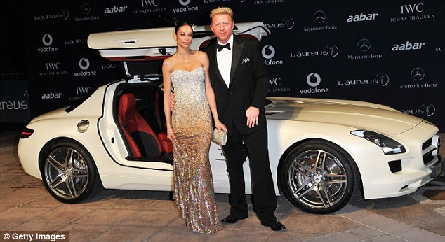 Laureus World Sports Awards 2011 Boris Becker And His