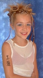 Very Young Little Girls Tattoo