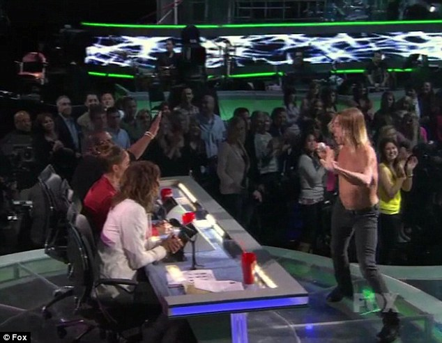 J-Glow: After he had finished performing J-Lo was the last judge to stand and applaud him