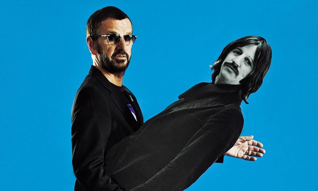 Cute Mustache Wallpaper The Beatles Ringo Starr Paul Mccartney Likes To Think