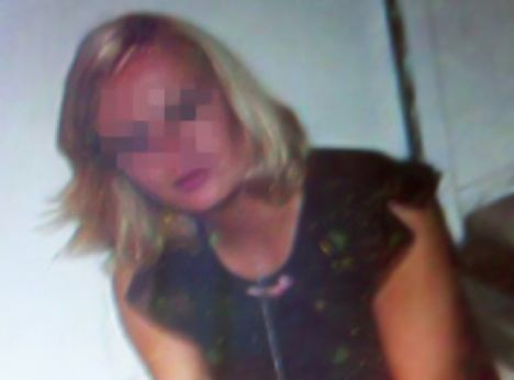 Teaching a lesson: Olga Zajac, 28, allegedly held 32-year-old would-be robber Viktor Jasinski captive for three days in a back room of her hair salon, feeding him Viagra and having sex 'a couple of times'