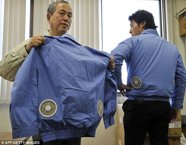 Japanese Company Creates 39air Conditioned39 Jacket