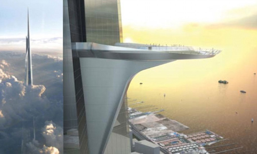 Kingdom Tower Stunning New Images Of World39s Tallest
