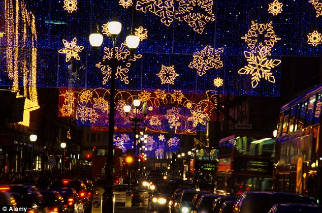 3d Xmas Live Wallpaper London Regent Street Christmas Lights Fail To Impress With