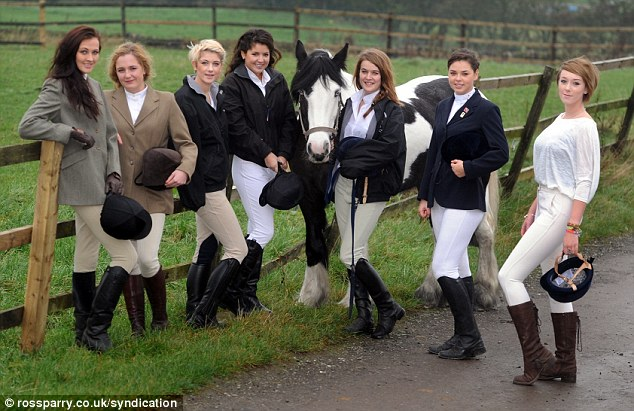 Hot To Trot Saucy Horse Riding Students Strip Down To