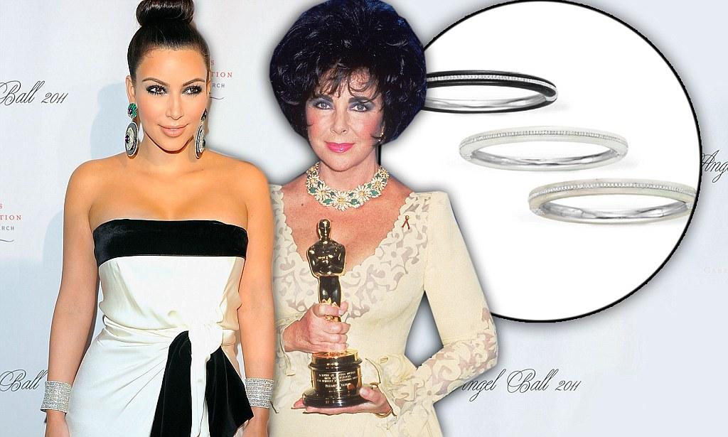 Kim Kardashian Splurges 65k On 3 Elizabeth Taylor