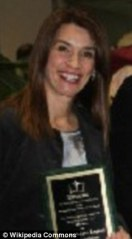 Award-winning teacher: Joanne Léger-Legault admitted to having intimate relationships with her male students