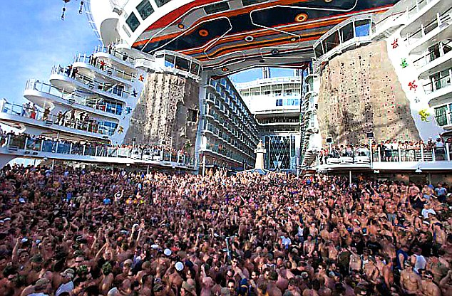 Allure Of The Seas Briton Missing After Fall From World39s