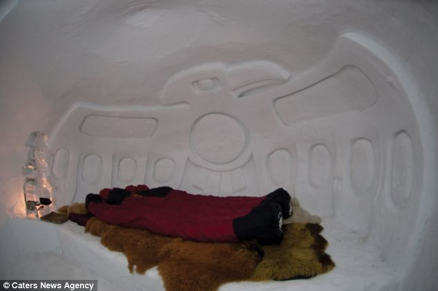 The Coolest Hotel In The World Mountain Top Igloo Allows