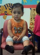 Baby boy: One-year-old Ishan was allegedly left alone to drown in a hall-full bathtub