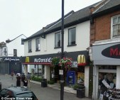 Terrifying attack: The final attack happened in the toilets of this McDonald's in East Ham