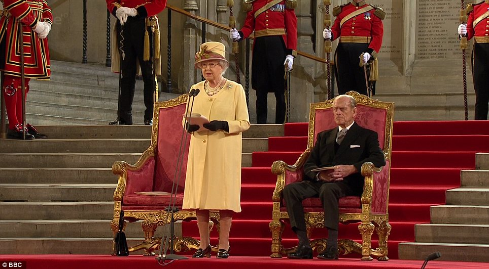 Diamond Jubilee The Queen Addresses Parliament At