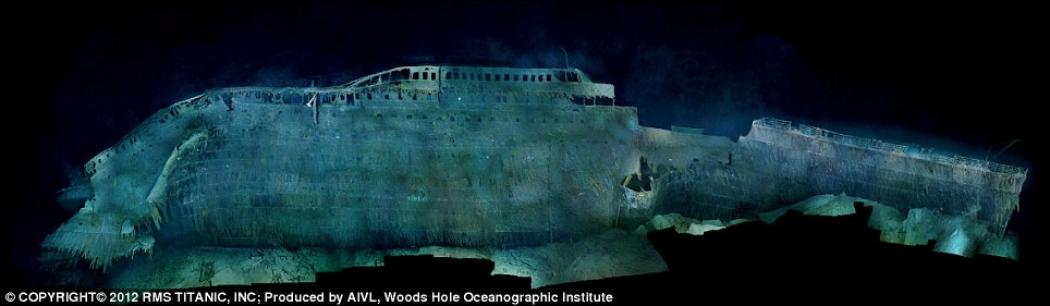 The Titanic As You39ve Never Seen It Before A Century