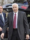 Jerry Sandusky, pictured at court last month, was labelled as a 'likely pedophile' in a 1998 report