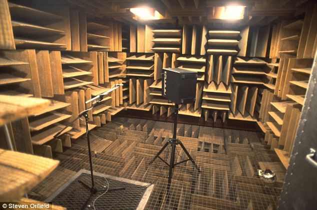 In a very quiet anechoic chamber no sound from the outside world enters you ear canals 2