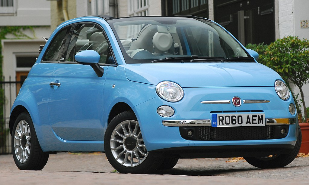 The car thugs just love to key Fiat 500 is Britain\u0027s most