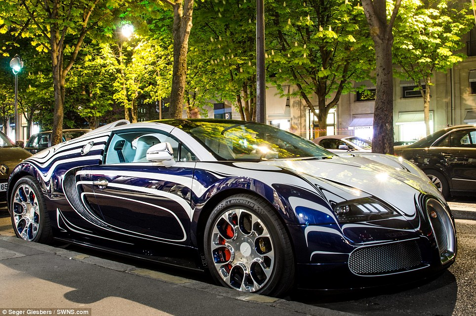 White Gold Wallpaper Hd That S One Cracking Motor Brave Owner Parks His Unique 163 1