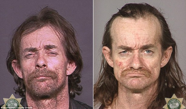 Horrific: Users of the drug are known to lose their teeth very quickly - known as meth mouth