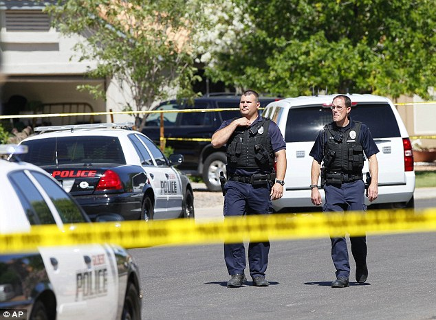 Police in the Phoenix suburb of Gilbert say a man shot and killed four people, including a toddler, before killing himself