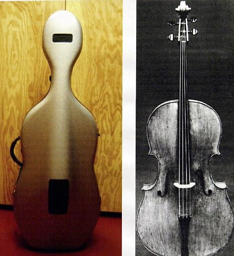 Stradivarius cello worth $20MILLION broken \u0027when it slipped off a