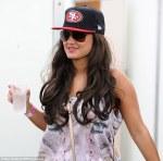 Hot Brunette Wearing Baseball Cap