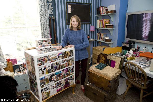 DIY teen queen The 15-year-old who transformed her bedroom and - diy teen bedroom ideas