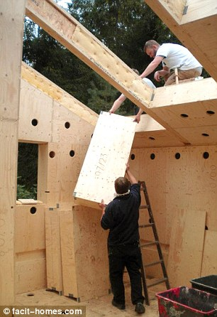 A Real Diy Job! The Flatpack House You Can Build Yourself | Daily