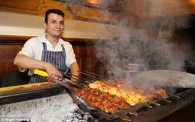 3d Brick Wallpaper Uk Meze Mengal Restaurant Guide Ranks Kebab Shop Among Best