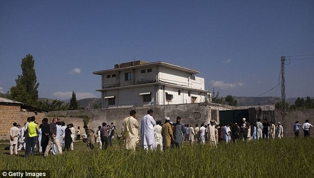 100 per cent: The CIA agent named 'Jen' felt completely confident that the man she had been tracking for five years was Osama bin Laden and lead the team to his Abbottabad compound (pictured)