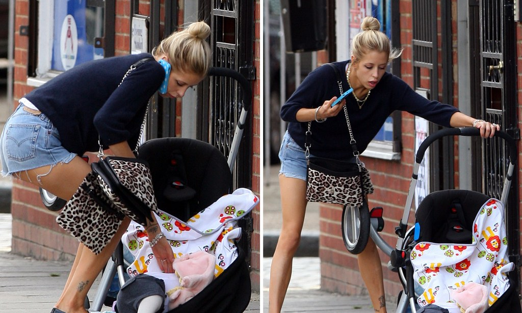 Child With A Pram Why Peaches Geldof 39;s Pram Crash Proves We 39;re Losing Touch