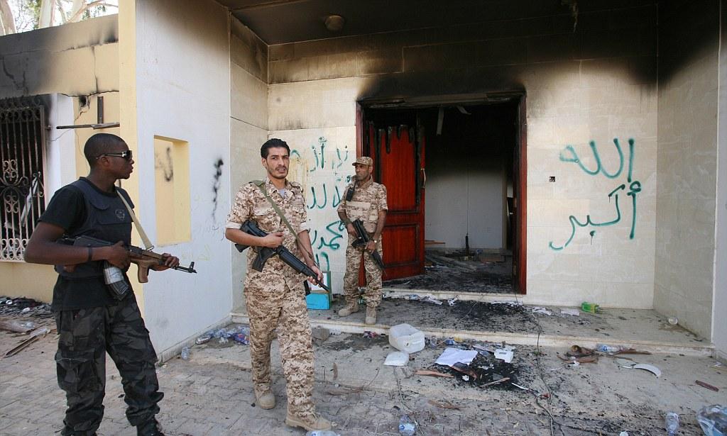 Elite marines sent to Libya as security ramped up at embassies