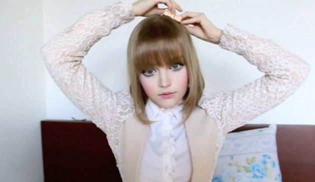 Internet sensation: Dakota Rose - also known as Kota Koti - has been hailed as a real-life Barbie