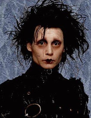 Johnny Depp reprises his Edward Scissorhands character for Family Guy