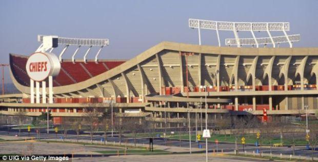Shooting: Arrowhead Stadium is home of the Kansas City Chiefs, Kansas City