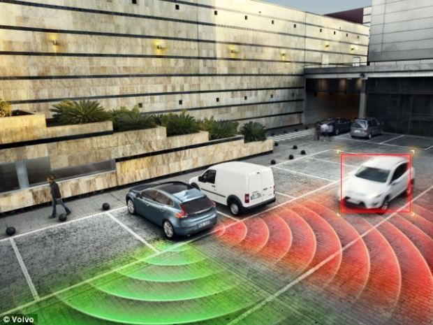 The car will be fitted with dozens of sensors allowing it to monitor both pedestrians and other traffic, and take action to avoid collisions. Volvo claims by 2020 it can eradicate accidents and deaths in its vehicles.