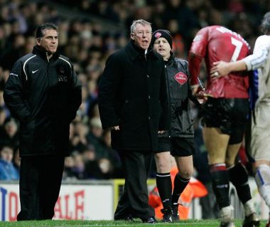 Famous fury: Sir Alex Ferguson says he is much calmer these days