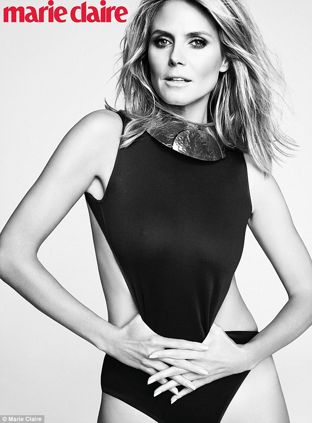 Done with marriage: Marie Claire covergirl Heidi Klum has revealed that she has no plans to wed again following her divorce from husband Seal